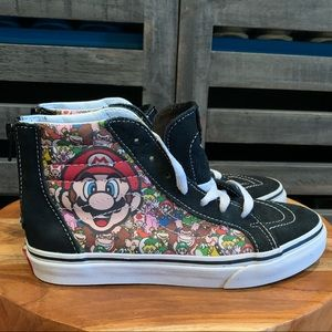 Mario Vans youth size 4